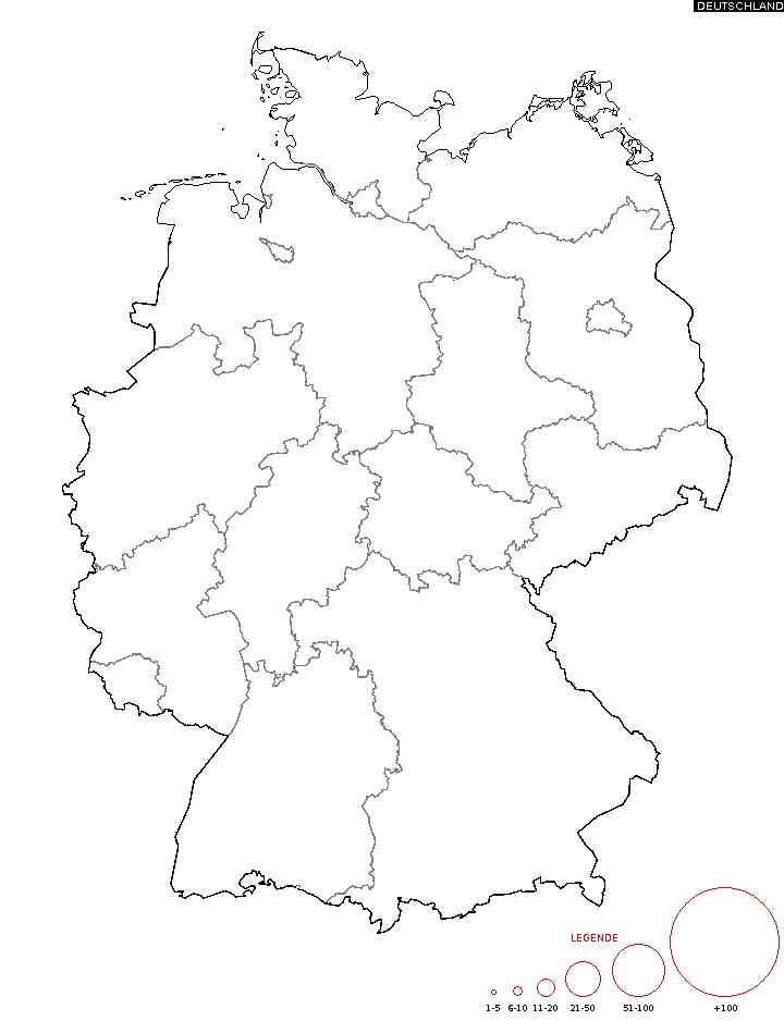 nachnamen karte Diffusion des Nachnamen   Karte zum Namen